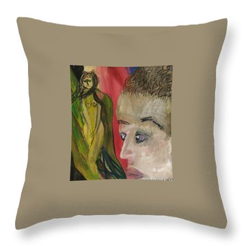 The Sexy Man With The Watery Blue Eyes Throw Pillow