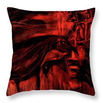 The Shap Shifters Call Throw Pillow