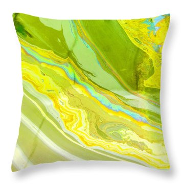 The Sheen From The Arizona Throw Pillow