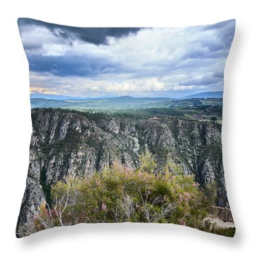 The Sights Of The Sil Throw Pillow