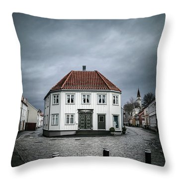 The Silent Divide Throw Pillow