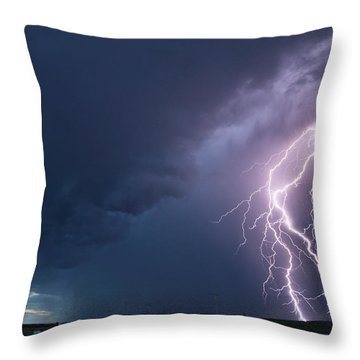 The Sky Is Alive Throw Pillow