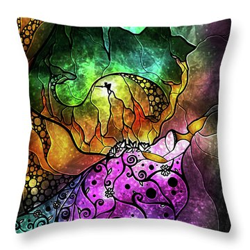 The Sleeping Beauty Throw Pillow