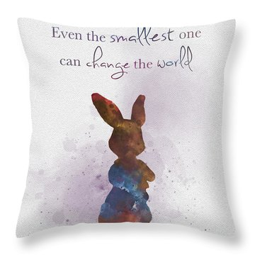The Smallest One Throw Pillow
