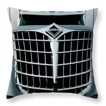 The Smiling Truck Throw Pillow