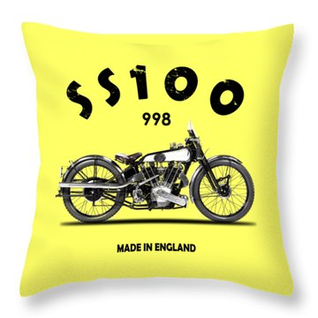 The Ss 100 1925 Throw Pillow