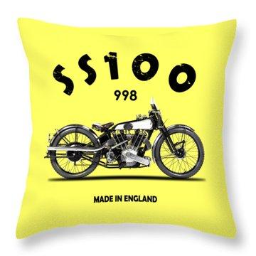 The Ss 100 1925 Throw Pillow