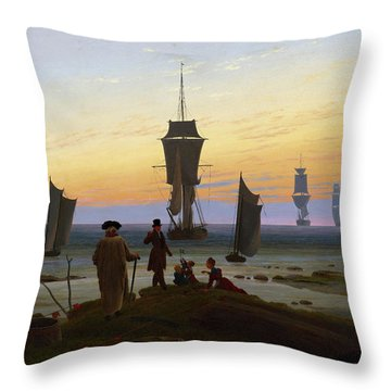 The Stages Of Life, 1834 Throw Pillow