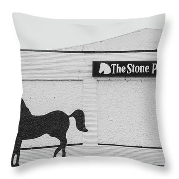 Throw Pillow featuring the photograph The Stone Pony - Asbury Park by Kristia Adams