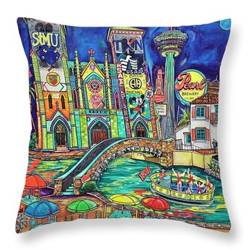 The Story Of Us Throw Pillow