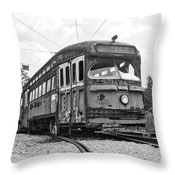 The Streetcar Throw Pillow