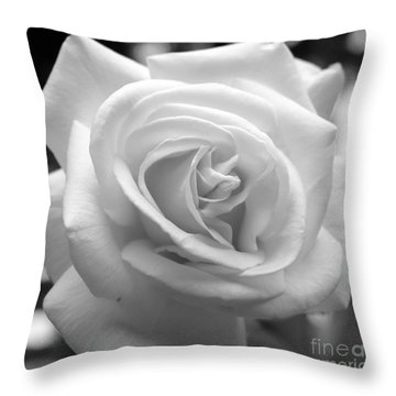 The Subtle Rose Throw Pillow