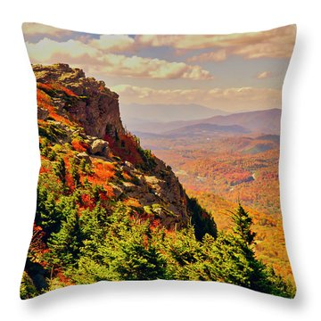 The Summit In Fall Throw Pillow