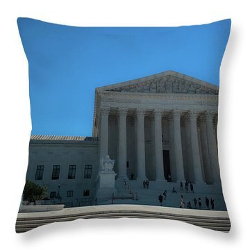 The Supreme Court Throw Pillow