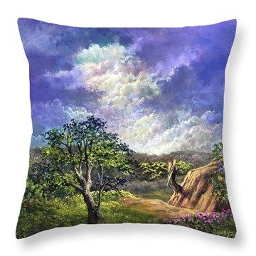 The Sustaining Celestial Throw Pillow