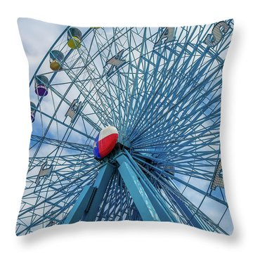 The Texas Star, State Fair Of Texas Throw Pillow