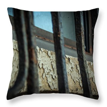 The Texture Of Time Throw Pillow
