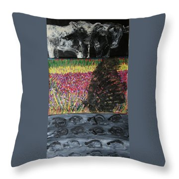 The Trickle Down Effect Throw Pillow