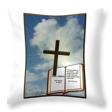 The Truth Will Set You Free Throw Pillow