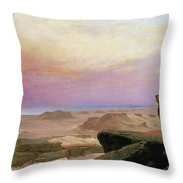 The Two Majesties - Digital Remastered Edition Throw Pillow