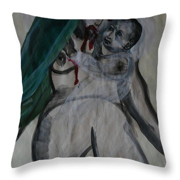 The Voice Within-listen Throw Pillow