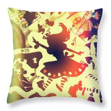 The Waking Game Throw Pillow