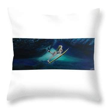 The Wedge - Duck Dive Throw Pillow