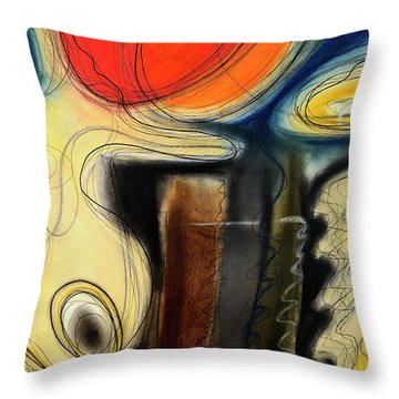 The Whirler Throw Pillow