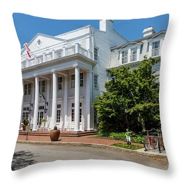 The Willcox Hotel - Aiken Sc Throw Pillow