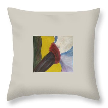 The Wind Blows And Things Fall Throw Pillow