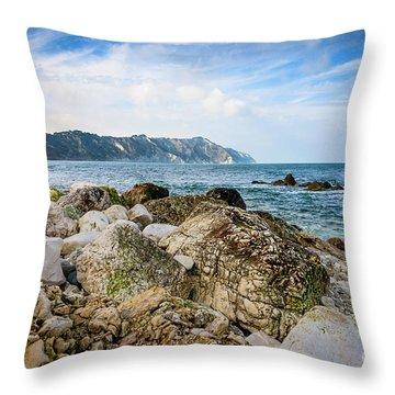 The Winter Sea #1 Throw Pillow