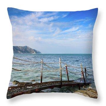 The Winter Sea #2 Throw Pillow