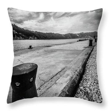The Winter Sea #3 Throw Pillow