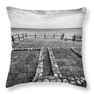 The Winter Sea #5 Throw Pillow