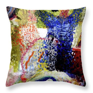 The Word Was Made Flesh The Egg And I Throw Pillow