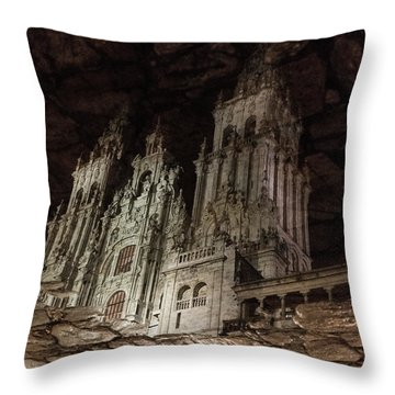 The World At Your Feet Throw Pillow