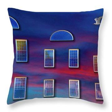 The Wormhole Throw Pillow