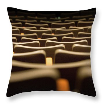 Theater Seats Throw Pillow