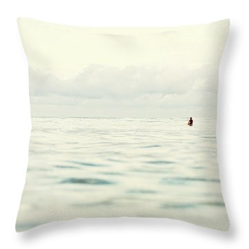 Throw Pillow featuring the photograph Therapy by Nik West