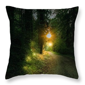 There Is Always A Light Throw Pillow