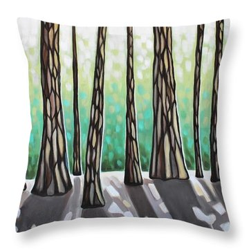 Look Beyond The Shadows Throw Pillow