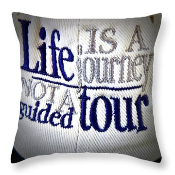 Think About It... Throw Pillow