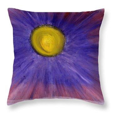 Throw Pillow featuring the pastel This Is How Dreams And Nightmares Are Made Of by Bee-Bee Deigner
