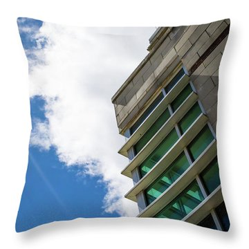 This Is Not The End Throw Pillow