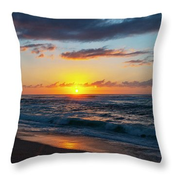 This Is Why They Call It Sunset Beach Throw Pillow