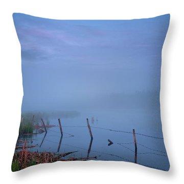 Thorhild Pond Throw Pillow