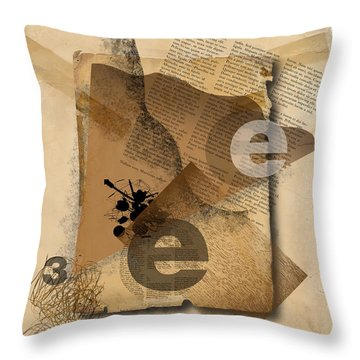 Throw Pillow featuring the photograph Three by Mark Shoolery