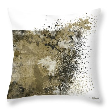 Three Ravens Throw Pillow