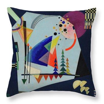 Three Sounds, 1926 Throw Pillow