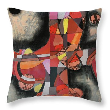 Thresher Throw Pillow